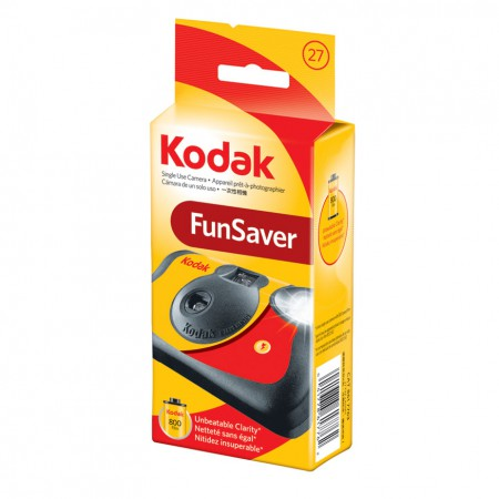 KODAK FUN SAVER FLASH CAMERA 27 ISO 800