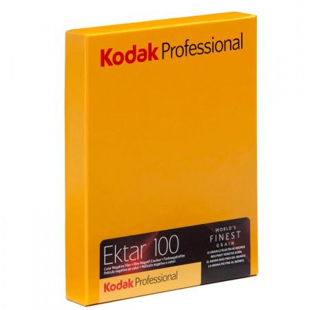 """KODAK EKTAR 100 4X5"""" 10SH"""