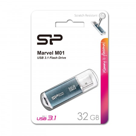 Silicon Power Marvel M01 32GB USB 3.1 (Blue)
