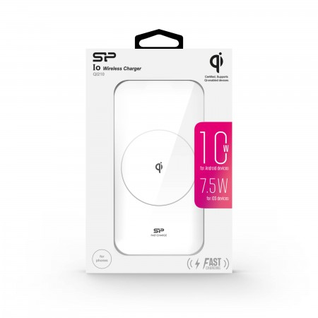 Silicon Power Boost Wireless Charger White