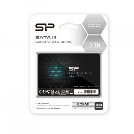 Silicon Power Ace A55 SSD 2TB SATAIII (3D TLC NAND)