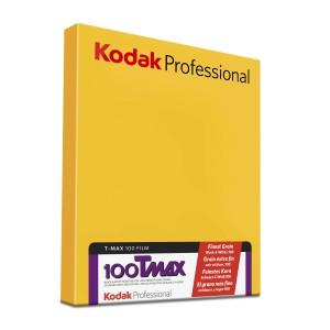 """KODAK T-MAX 100 PRO 4X5"""" 50SH"""
