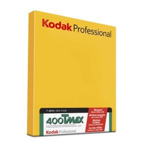"""KODAK T-MAX 400 PRO 4X5"""" 50SH"""