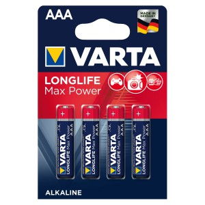 VARTA Longlife Max Power (Max Tech) AAA Blister 4