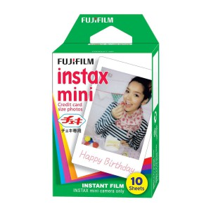 FUJIFILM INSTAX MINI COLORFILM GLOSSY SINGLE PACK