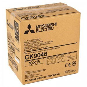 MITSUBISHI CK9046 102X152MM / 600 PRINTS