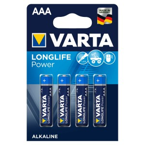 VARTA Longlife Power (High Energy) AAA Blister 4