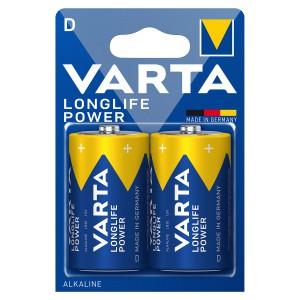 VARTA Longlife Power (High Energy) D Blister 2