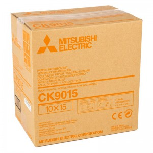 MITSUBISHI CK9015 102X152MM / 600 PRINTS