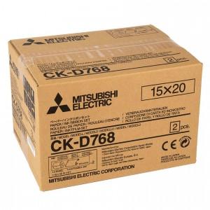 MITSUBISHI CK-D768 152X203MM / 2X200 PRINTS