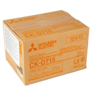 MITSUBISHI CK-D715 102X152MM / 2X400 PRINTS