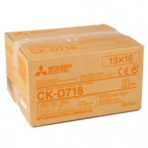 MITSUBISHI CK-D718 130X180MM / 2X230 PRINTS