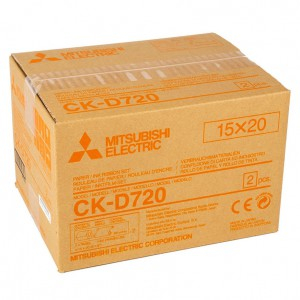 MITSUBISHI CK-D720 152X203MM / 2X200 PRINTS