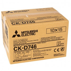 MITSUBISHI CK-D746 102X152MM / 2X400 PRINTS