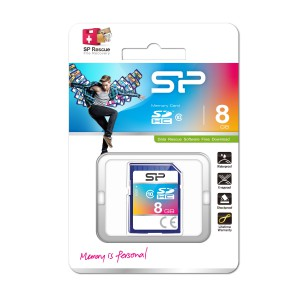 Silicon Power SDHC Card class 10 8GB
