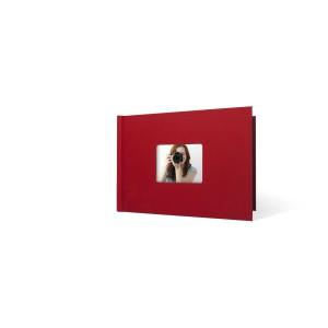 UNIBIND MyBook 20x30cm/7mm Landscape + Venster Red Linen (5st)