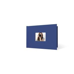 UNIBIND MyBook 20x30cm/7mm Landscape + Venster Dark Blue Linen (5st)
