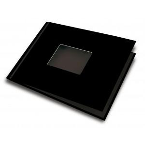 UNIBIND MyBook 20x30cm/7mm Landscape + Venster Black Silk (5st)