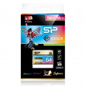 Silicon Power CF Card Hi-speed 1000x 64GB
