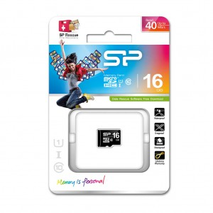 Silicon Power MicroSDHC Card class 10 16GB (zonder adapter) OP=OP