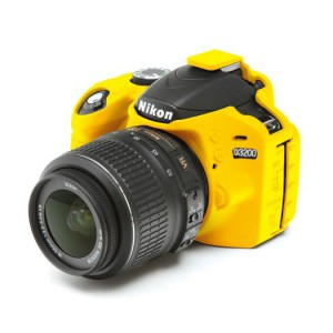 easyCover Body Cover for Nikon D3200 Yellow