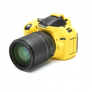 easyCover Body Cover for Nikon D5200 Yellow