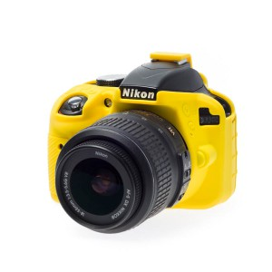 easyCover Body Cover for Nikon D3300/D3400 Yellow