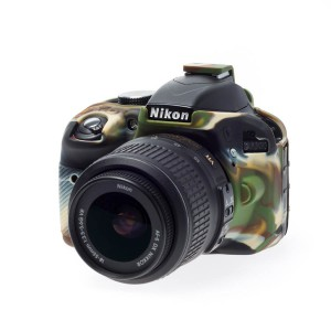easyCover Body Cover for Nikon D3300/D3400 Camouflage