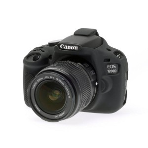 easyCover Body Cover for Canon 1200D Black