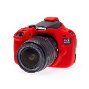 easyCover Body Cover for Canon 1200D Red