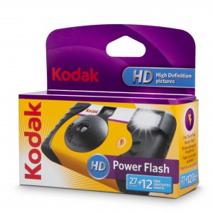 KODAK POWER FLASH CAMERA 27+12 ISO 800
