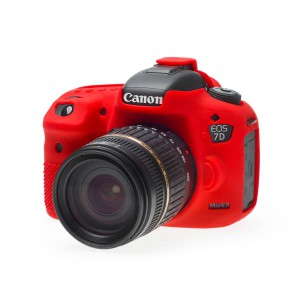 easyCover Body Cover for Canon 7D Mark II Red