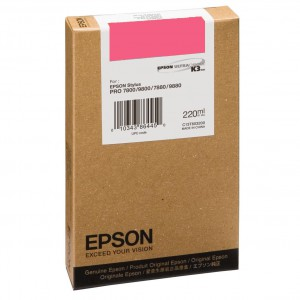 EPSON T6033 Vivid Magenta 220ml