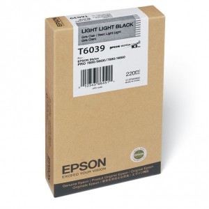 EPSON T6039 Light Light Black 220ml