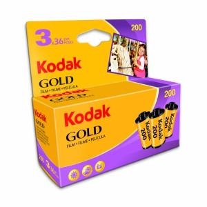 KODAK GOLD 200 135-36 3 PAK BLISTER