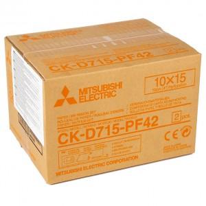 MITSUBISHI CK-715-PF42 100X100MM 2X400 PRINTS PERFORATED
