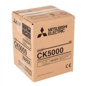 MITSUBISHI CK5000 203X305MM / 250 PRINTS / PAPER FOR CP-W5000DW