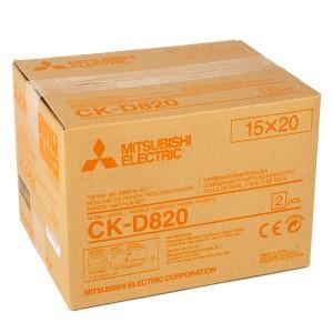 MITSUBISHI CK-D820 102X152MM / 2X430 PRINTS - 152X203MM / 2X215 PRINTS