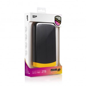 Silicon Power Armor A65 ext HDD 2TB USB 3.0 (Black)