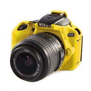 easyCover Body Cover for Nikon D5500/D5600 Yellow