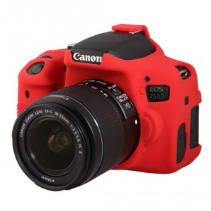 easyCover Body Cover for Canon 750D Red