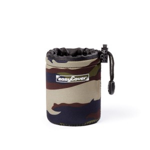 easyCover Lens Case Small Camouflage
