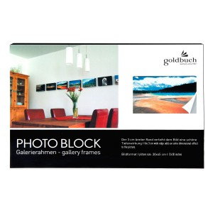 Goldbuch photo block black 30x45