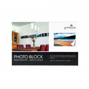 Goldbuch photo block white 30x40