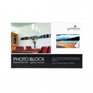 Goldbuch photo block white 30x45