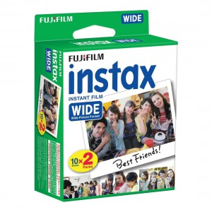 Fujifilm Instax Colorfilm Wide Glossy 10X2 Pack