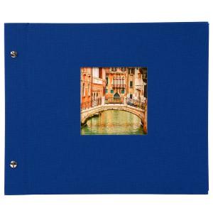 Goldbuch Bella Vista losbladig album 30x25 blue
