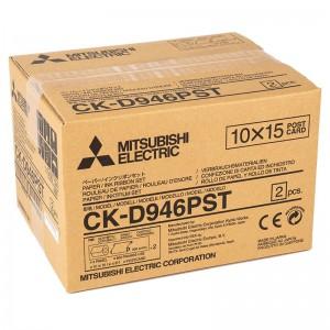 MITSUBISHI CK-D946PST 102X152MM / 2X400 PRINTS POSTCARD