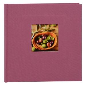 Goldbuch Bella Vista Trend slip-in album voor 200 foto's 10x15cm fuchsia