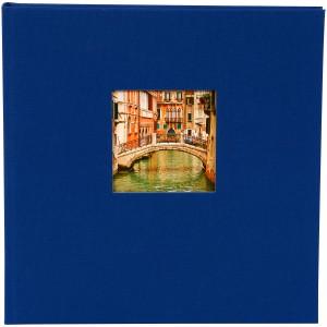 Goldbuch Bella Vista slip-in album voor 200 foto's 10x15cm blue